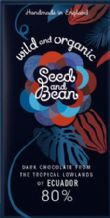 Seed & Bean Organic 80% Dark Chocolate 85g